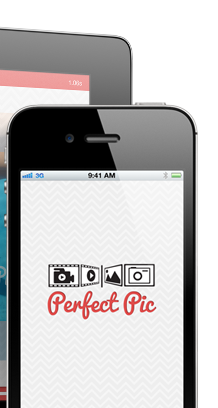 iPhone and iPad PerfectPic App Screenshots